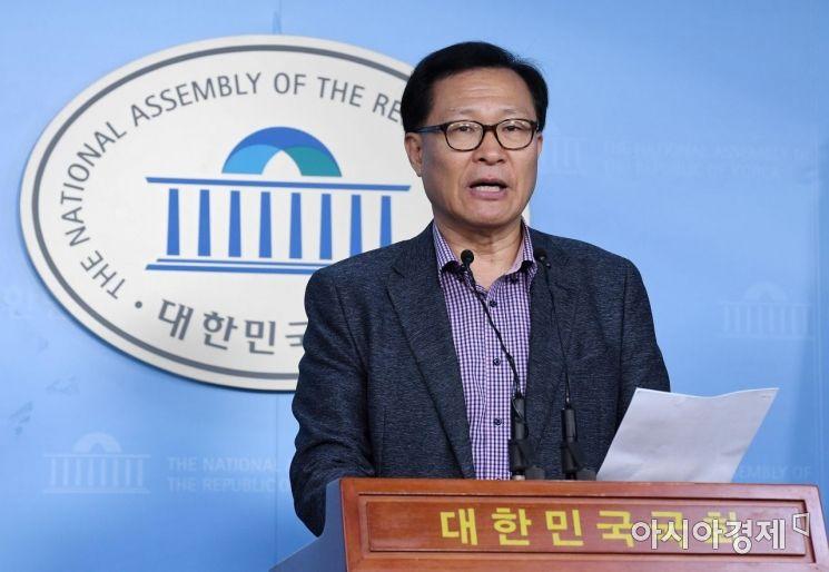[포토] 문병호, 바른미래당 탈당 선언