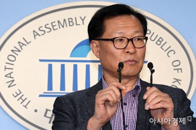[포토] 문병호 바른미래당 최고의원, 탈당 기자회견