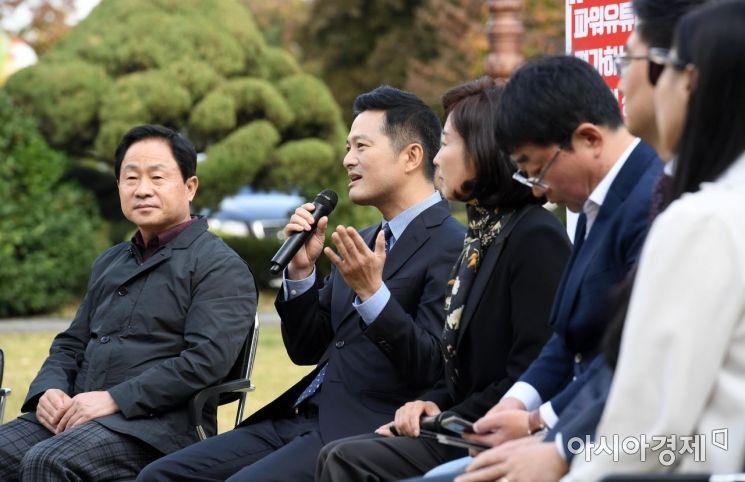 [포토] 발언하는 김태우 전 청와대 특별감찰관