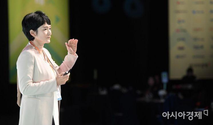 [포토] 권명숙 사장, '성숙한 리더십이란'