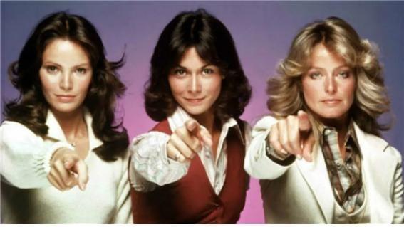 1976년부터 1981년까지 미국 ABC 채널에서 방영된 '미녀 삼총사(Charlie's Angels)'