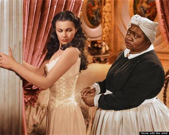 영화 '바람과 함께 사라지다'(1939)의 한 장면