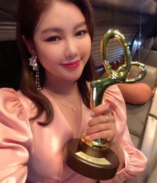 TV조선 '미스트롯' 출신 트로트 가수 송가인/사진=송가인 인스타그램 캡처