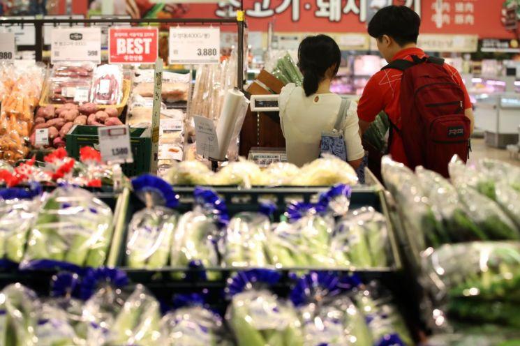 서울 시내 한 마트에서 장을 보는 시민들(자료사진) [이미지출처=연합뉴스]