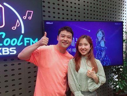 전현무(왼), 이혜성(오)./사진=이혜성 인스타그램 캡처