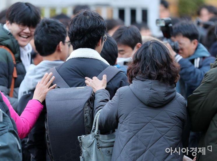 [포토]따뜻한 응원 받으며