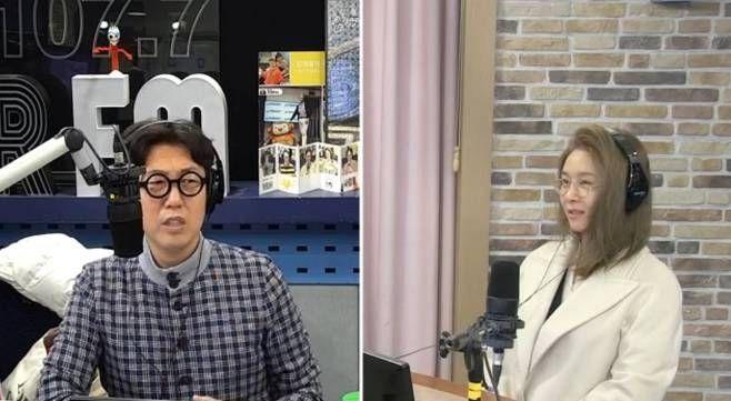 사진=SBS '김영철의 파워FM' 방송 캡처