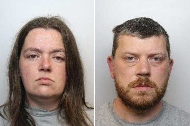 세라 버러스(35·여)와 브랜던 매친(39·남)/사진=영국 BBC 화면 캡처