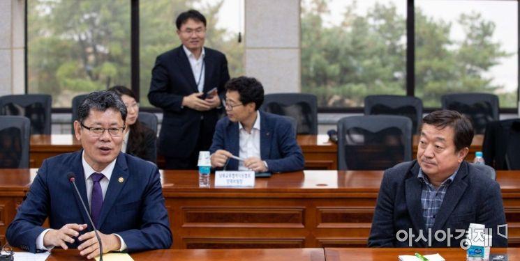 [포토]발언하는 김연철 통일부 장관