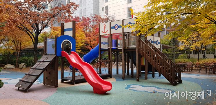 15일 서울의 한 아파트 단지 내 놀이터/사진=김가연 기자 katekim221@asiae.co.kr