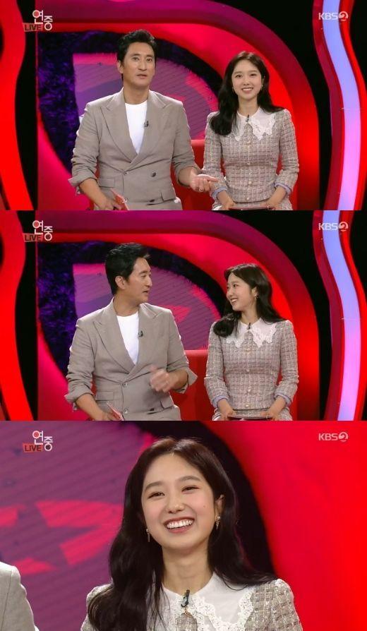 KBS 2TV '연예가중계' 이혜성 아나운서 / 사진=KBS 2TV 방송 캡처