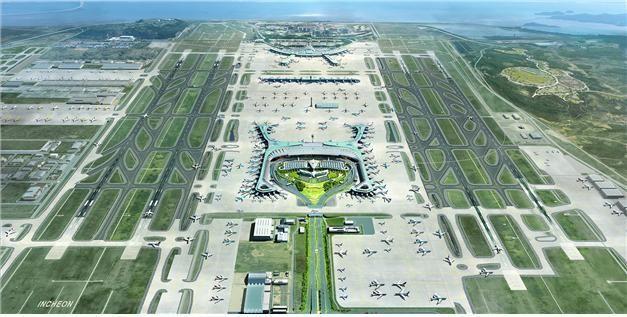 인천공항, 2024년 세계 3대 공항으로 도약…4단계 건설사업 기공식