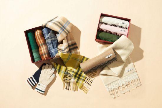 연말 선물 고민이라면…빈폴액세서리, 머플러·장갑 신상품 출시