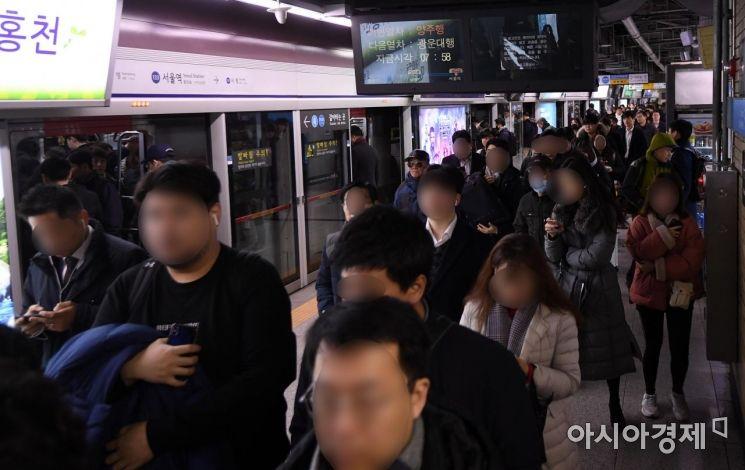 [포토] 철도파업  예고, 출근길까지 정상운행