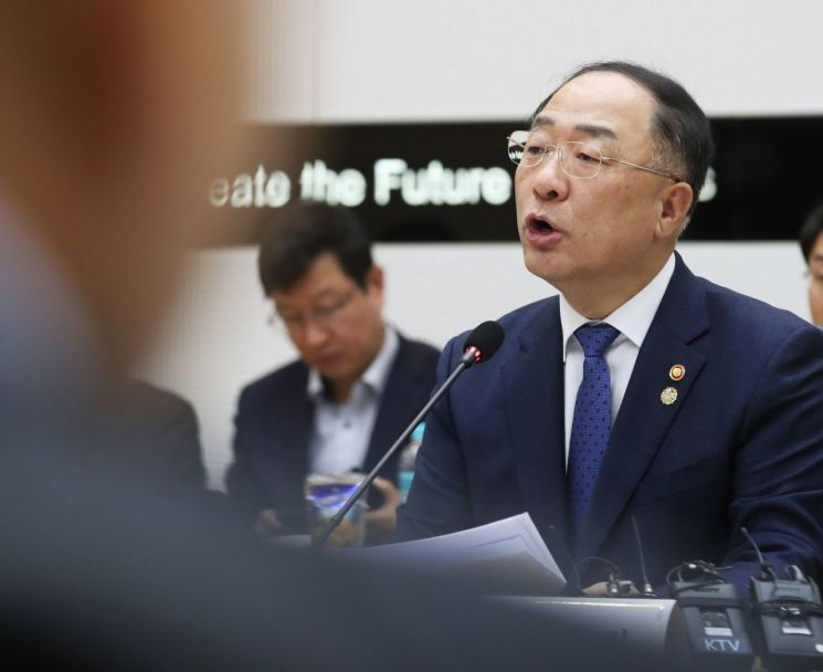 홍남기 부총리 겸 기획재정부 장관(사진출처=연합뉴스)