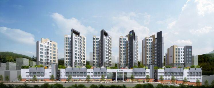 한신공영 '꿈의숲 한신더휴' 22일 견본주택 오픈
