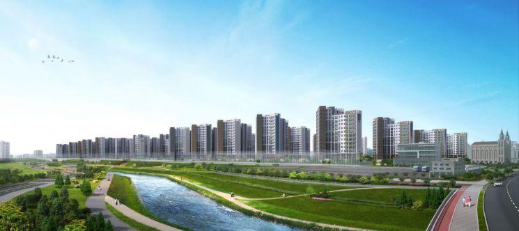 코오롱글로벌, '수원하늘채 더퍼스트' 견본주택 오픈
