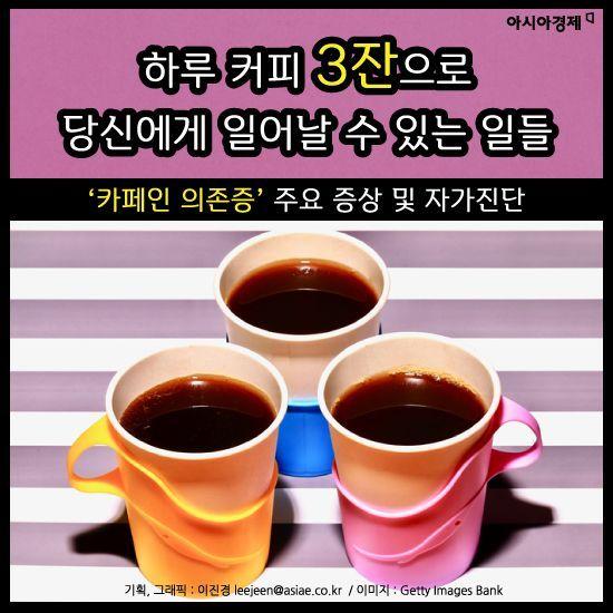 [카드뉴스]하루 커피 3잔으로 당신에게 일어날 수 있는 일들
