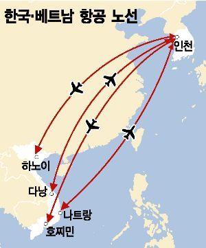 국적사·외항사 모두 공급↑…한-베트남 하늘길도 레드오션化
