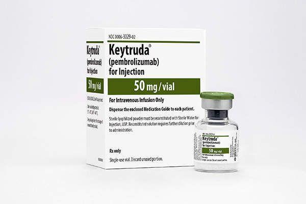 MSD의 면역관문억제제 키트루다. 향후 수년 내 전 세계에서 가장 매출이 높은 의약품이 될 가능성이 높은 것으로 제약업계에서는 보고 있다.