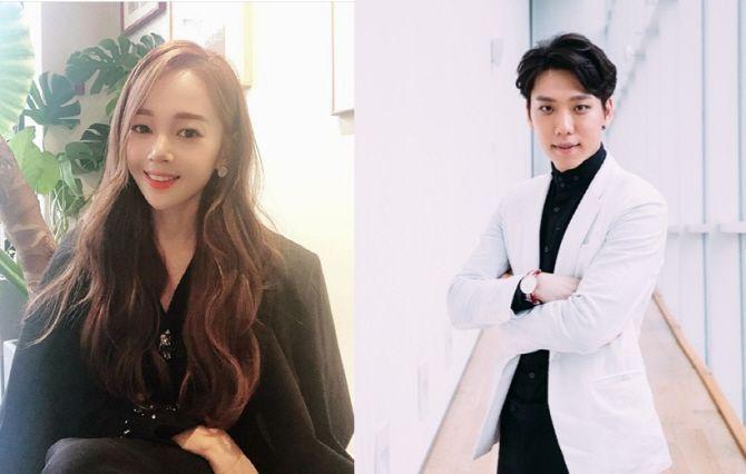 배우 김보미(좌)·발레리노 윤전일(우)/사진=김보미 인스타그램 ·CJ ENM 제공