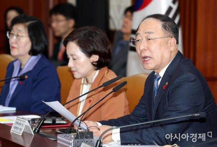 [포토]홍남기 부총리 주재 제5차 혁신성장 전략회의