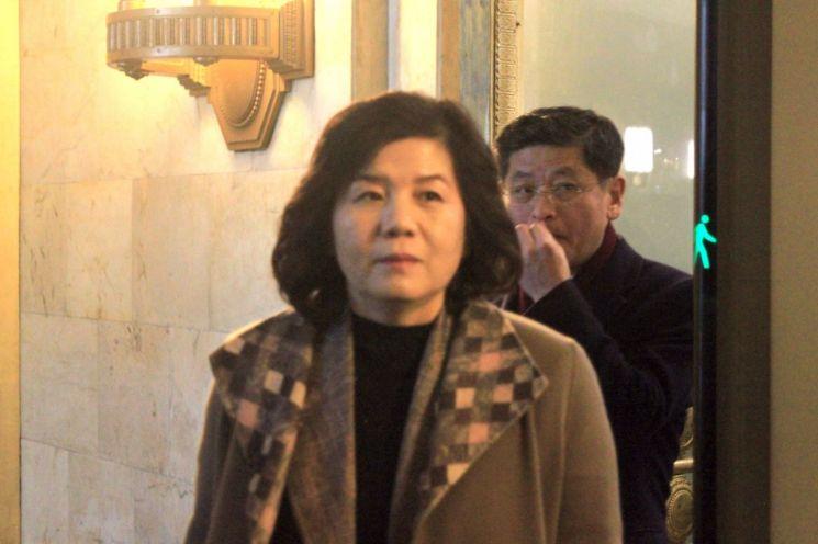 최선희 북한 외무성 제1부상 [이미지출처=연합뉴스]