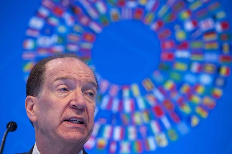 데이비드 맬패스 세계은행(WB) 총재 [이미지출처=EPA연합뉴스]