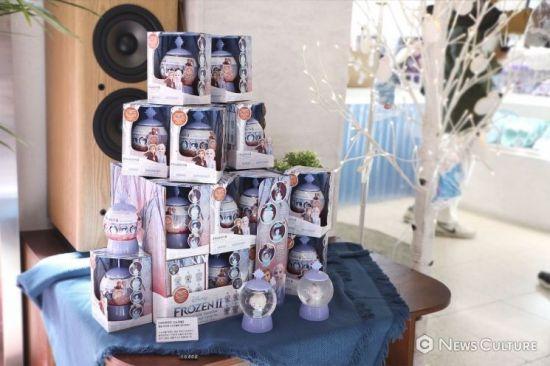 '겨울왕국2' 팝업스토어 삼청동 윈터하우스. 사진=김태윤 기자