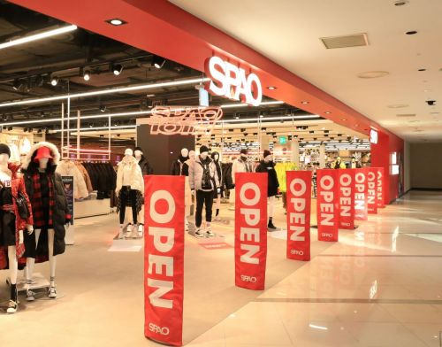 스파오, 콘텐츠·기술 결합된 미래형 SPA 매장 '타임스퀘어점' 오픈
