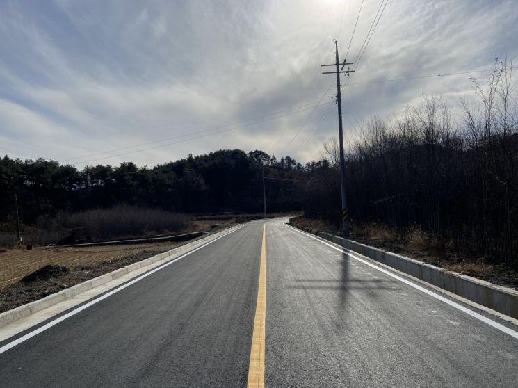 구례군, 구례읍 시동~산수동 간 도로확장 완료