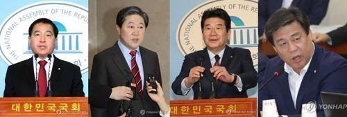 한국당 원내대표 선거 '4파전' 확정…9일 선출