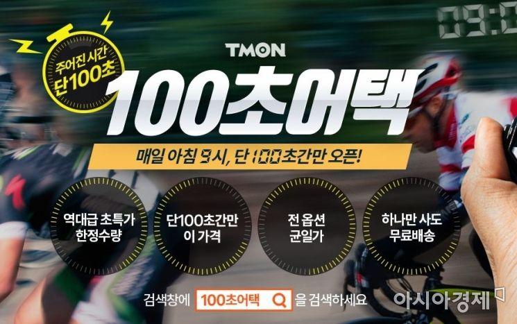 100초만에 7000개 판매…티몬 시간제한 초특가 전략 먹혔다