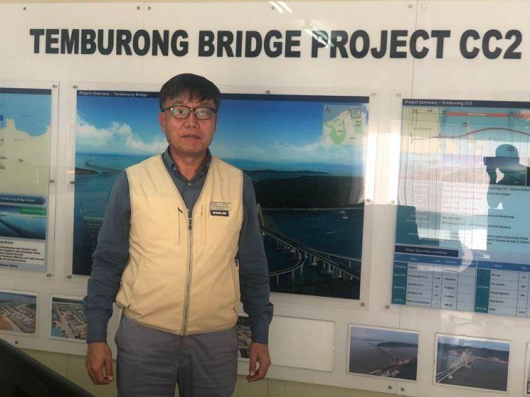 안병욱 대림산업 브루나이 템부롱 대교 현장소장
