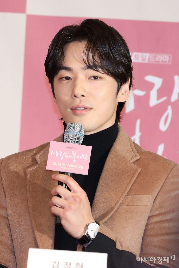 '사랑의 불시착'에서 구승준 역을 맡은 배우 김정현.