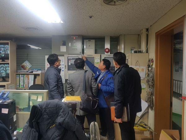 광주 북부소방서, 대형화재 취약대상 '안전지도' 실시