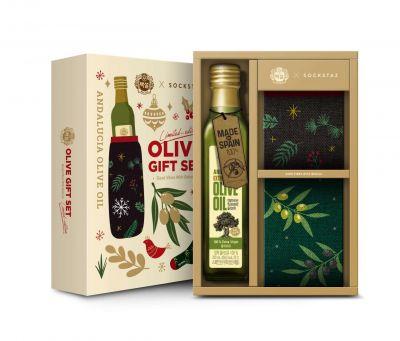 CJ제일제당, 올리브유와 양말 함께 담은 '크리스마스 올리브 선물세트' 출시