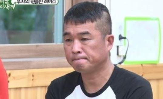 가수 김건모.사진=SBS '미운우리새끼' 캡처