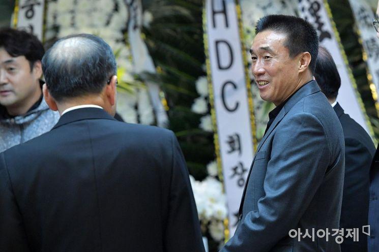 [포토]김우중 전 회장 빈소 찾은 하석주 감독