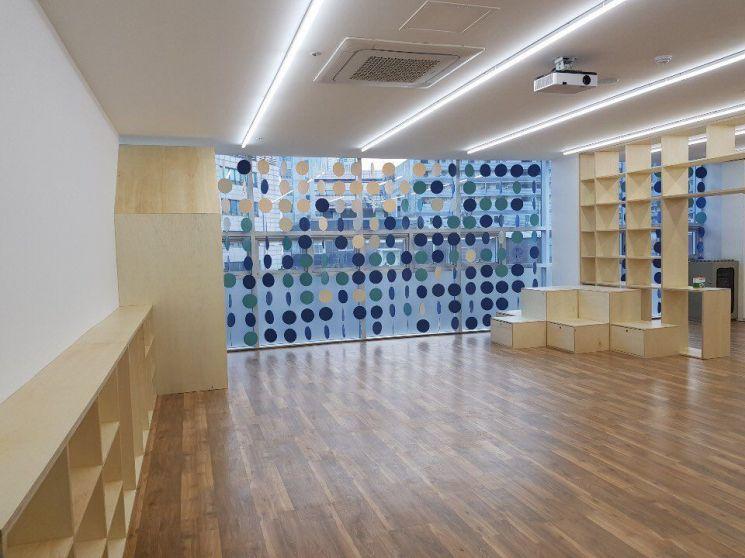 원효1동 원동교회 3층에 자리한 용산 1호 우리동네 키움센터