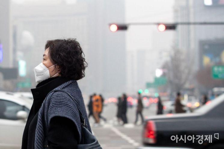 [포토]미세먼지 서울
