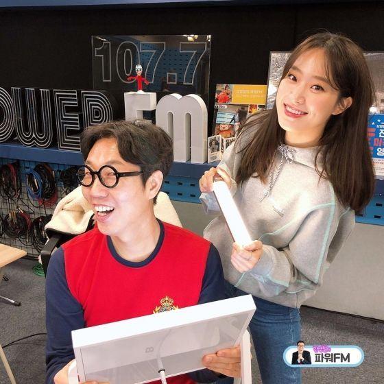 김영철의 파워FM에 출연한 주시은 아나운서 / 사진='김영철의 파워FM' SNS