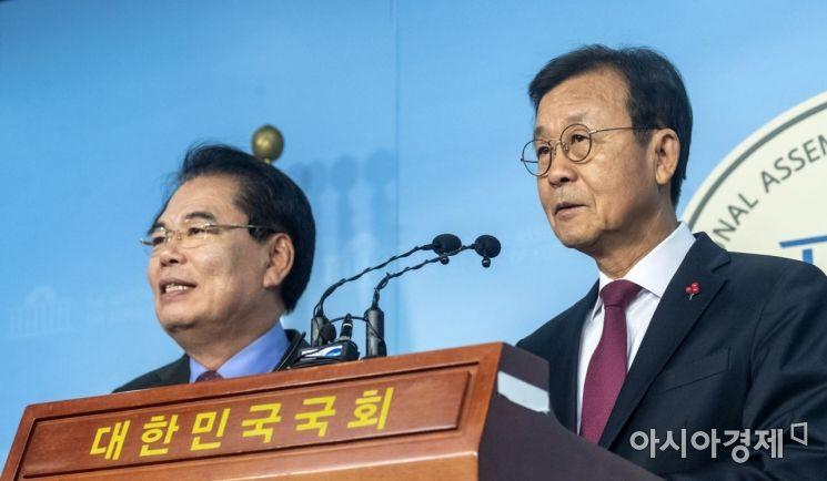 [포토] 원혜영·백재현, 총선 불출마 선언