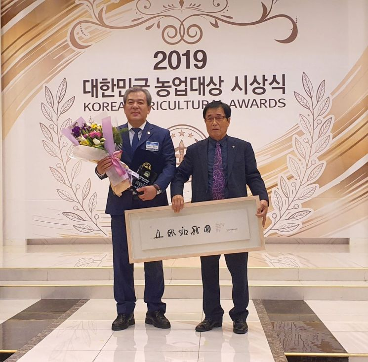 유근기 곡성군수 '2019 대한민국농업대상' 최우수상 수상