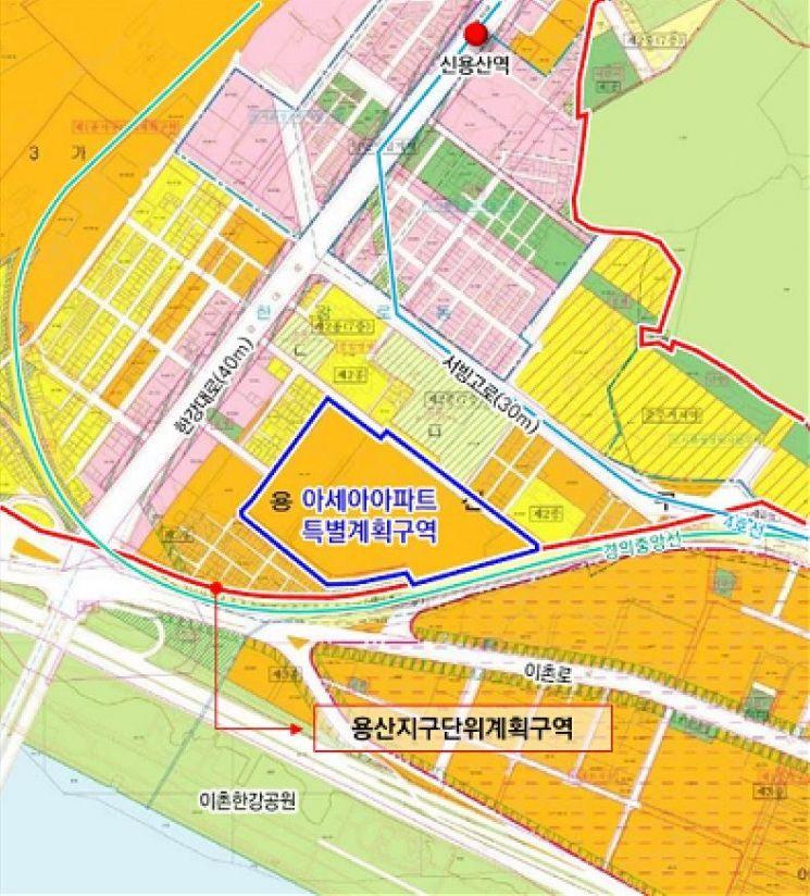 용산 아세아아파트, 최고 33층·969가구 규모 재탄생