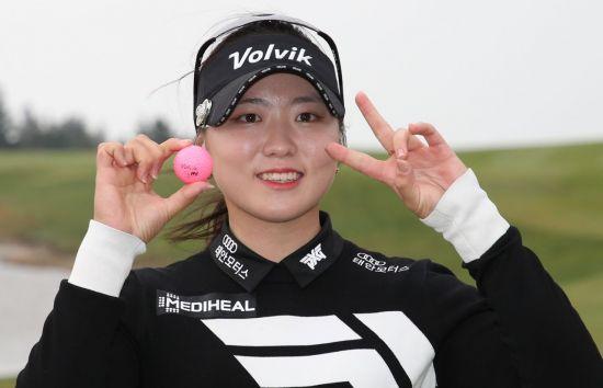 'KLPGA 신인왕' 조아연은 내년 목표를 3승과 평균타수 1위로 잡았다.