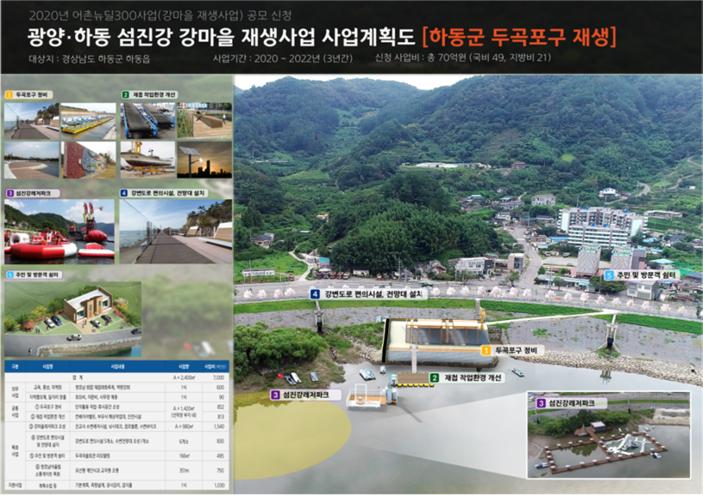 광양시·하동군, 총사업비 140억 원 내륙어촌 재생 공모사업 선정