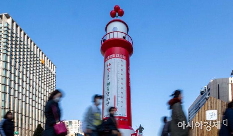 [포토]사랑의 온도탑 '23.2도'