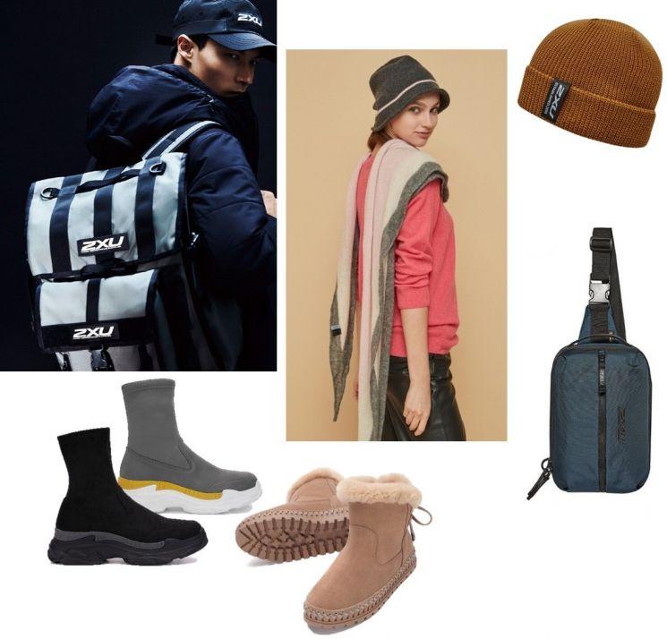 사진=화보컷 2XU, LBL, 모자와 가방 2XU, 신발 무크