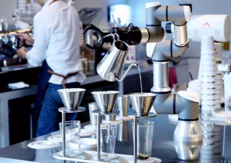 중기부 신년 계획, 로봇이 만든 커피에 담았다
